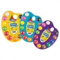 Farby akwarelowe Colorino 12 kolorów paletka + pędzelek
