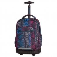 Plecak szkolny na kółkach CoolPack Swift Flashing Lava 946
