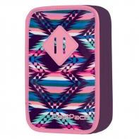 Podwójny piórnik z wyposażeniem, Coolpack Jumper, Pink Mexico