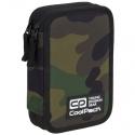 Podwójny piórnik z wyposażeniem, Coolpack Jumper 2, Camouflage Classic