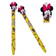 Długopis wymazywalny Colorino Disney MYSZKA MINNIE, żółty