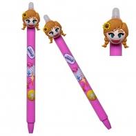 Długopis wymazywalny Colorino Disney FROZEN KRAINA LODU ANNA różowy