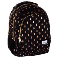 TRZYKOMOROWY plecak szkolny dziecięcy Astra Head 20L, GOLDEN KITTY